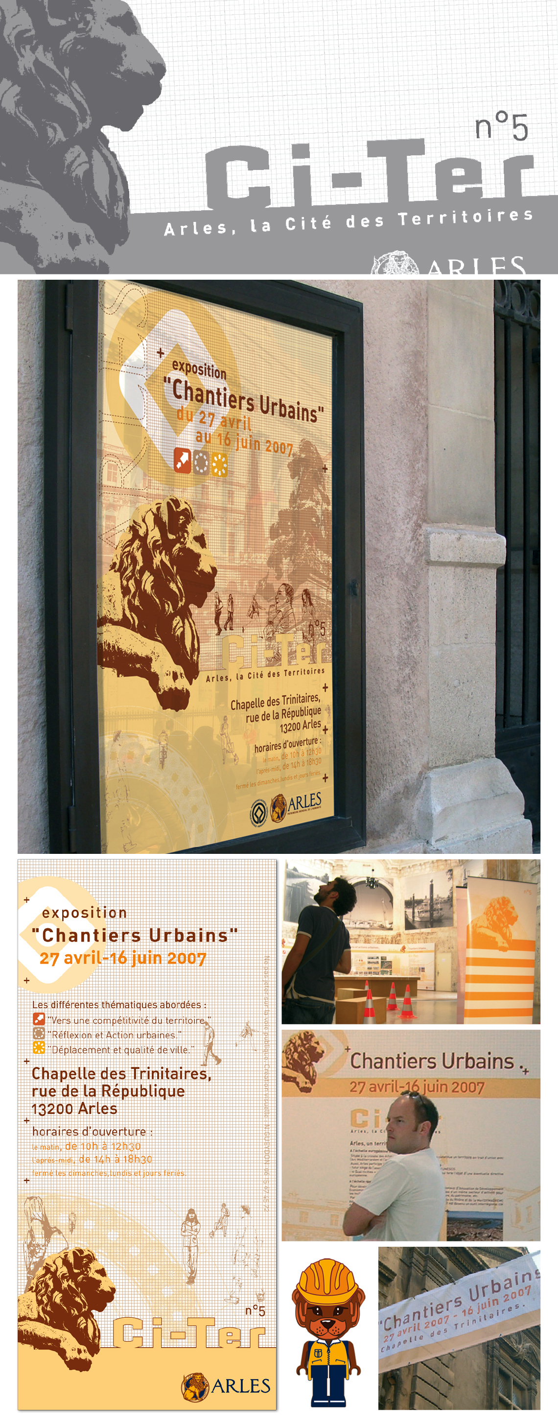 Exposition Ci-Ter n°5 « Chantier Urbains »