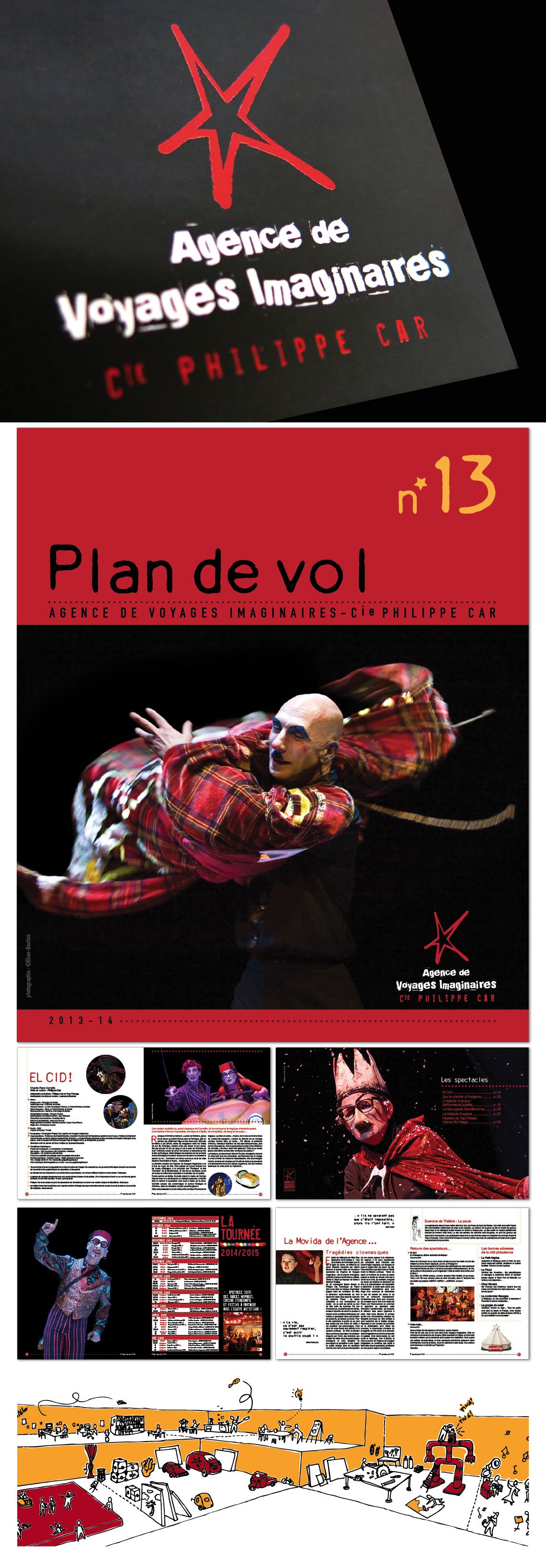 L'Agence de Voyage Imaginaire – Compagnie Philippe Car