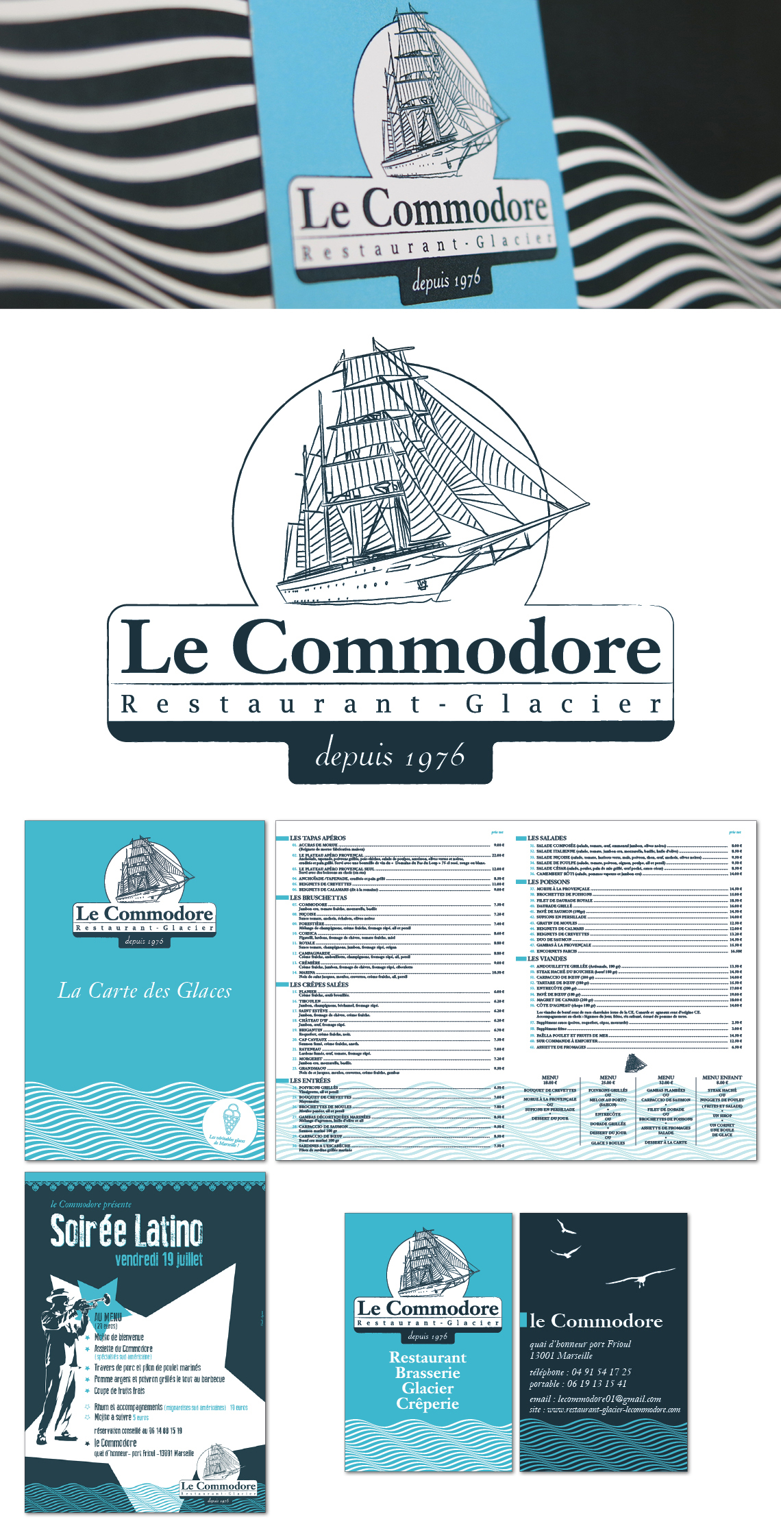Le Commodore, restaurant-glacier